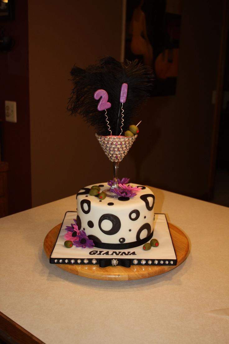 Alcoholic Birthday Cakes