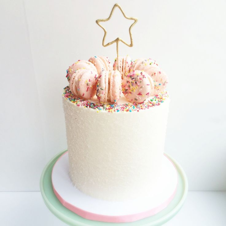 Macaron Birthday Cakes
