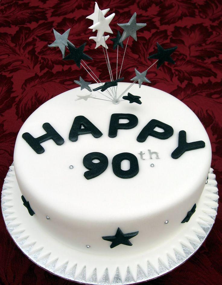 Best 25 90th Birthday Cakes Ideas On Pinterest 70