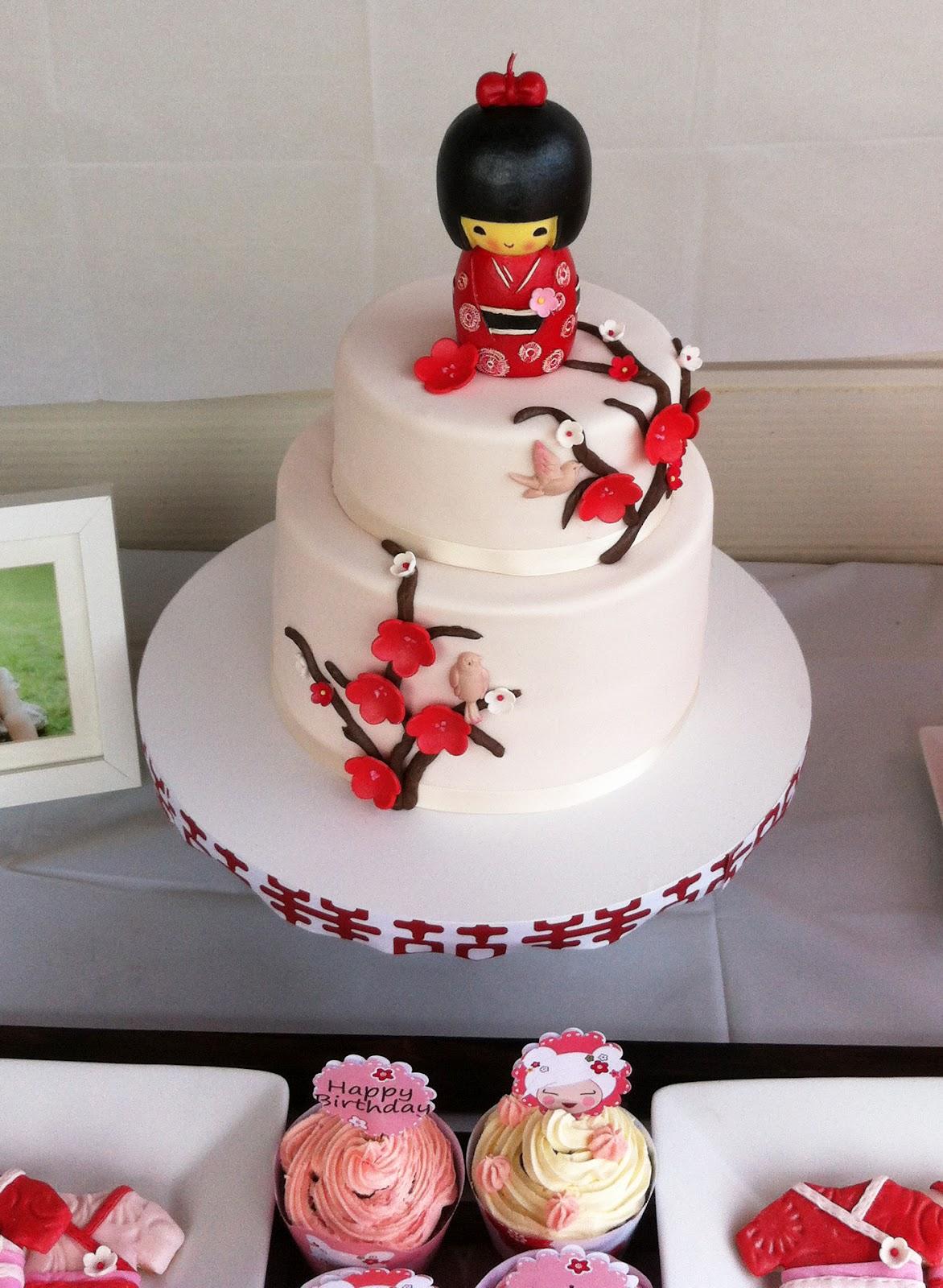 Japanese Birthday Cakes