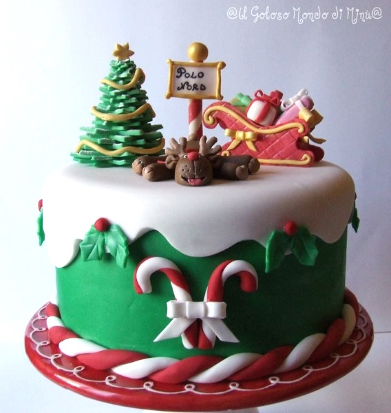 Christmas Themed Cakes Pictures.Cute Christmas Cakes