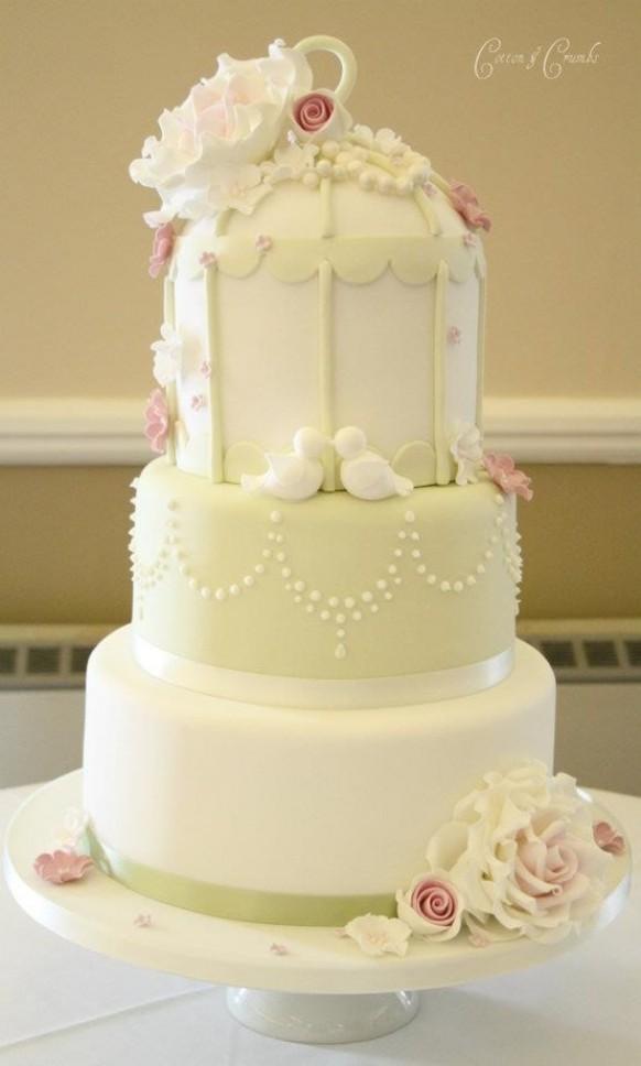 Birdcage Wedding Cakes