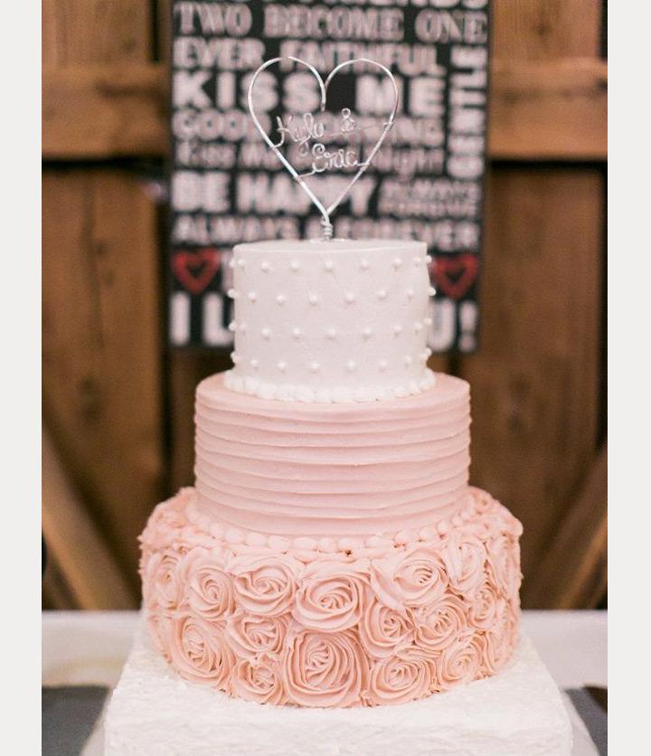 Blush Wedding Cakes