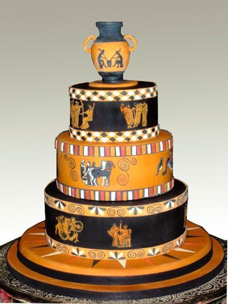 Greek Birthday Cakes