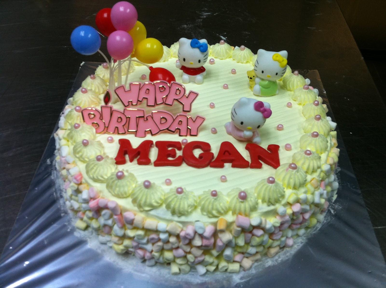 Megan Birthday Cakes