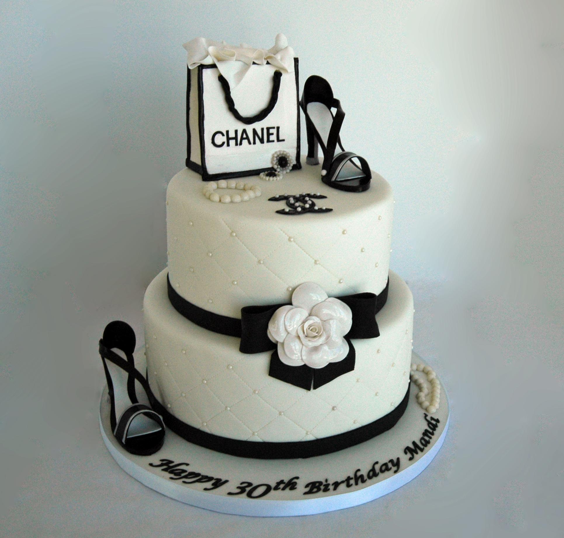 Chanel Birthday Cakes