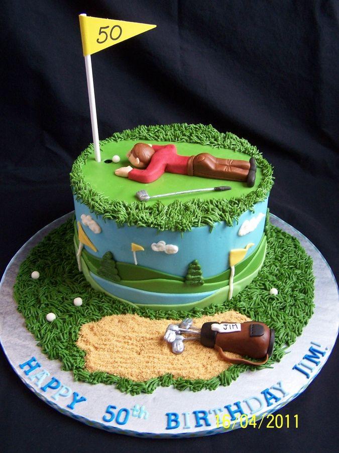 & Golf Birthday Cakes