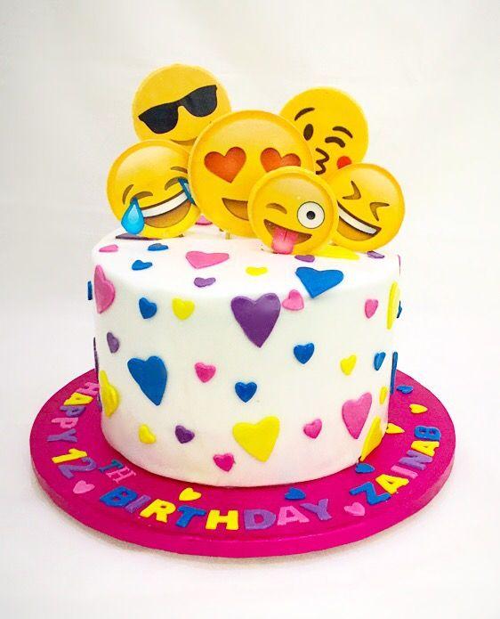Emoji Birthday Cakes
