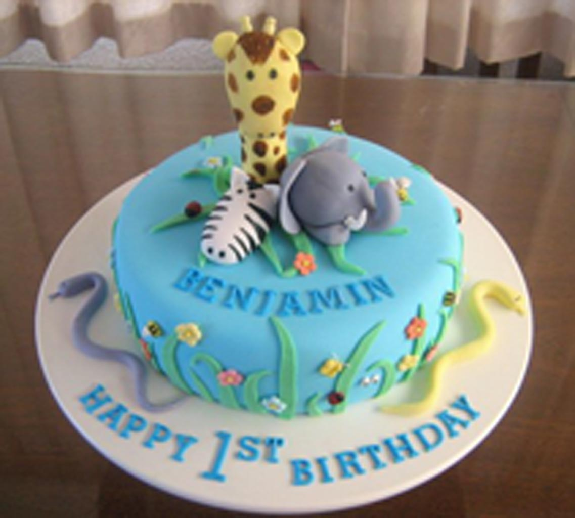 Animals Birthday Cakes