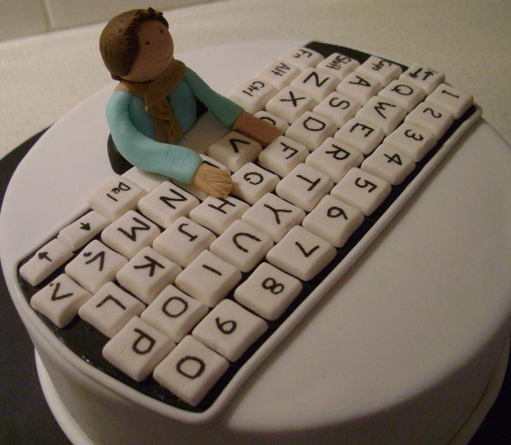 Happy Birthday Nerd Cake