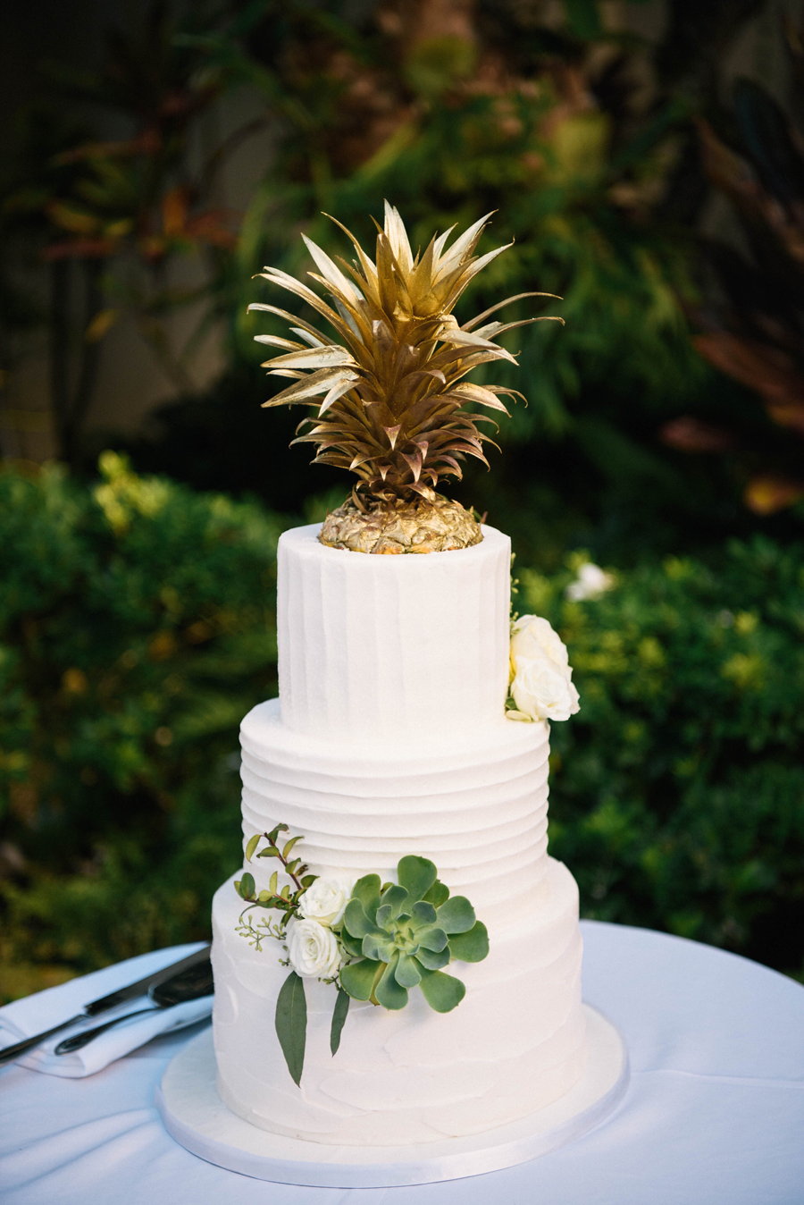 Pineapple Wedding Cakes - Pineapple Wedding Cake