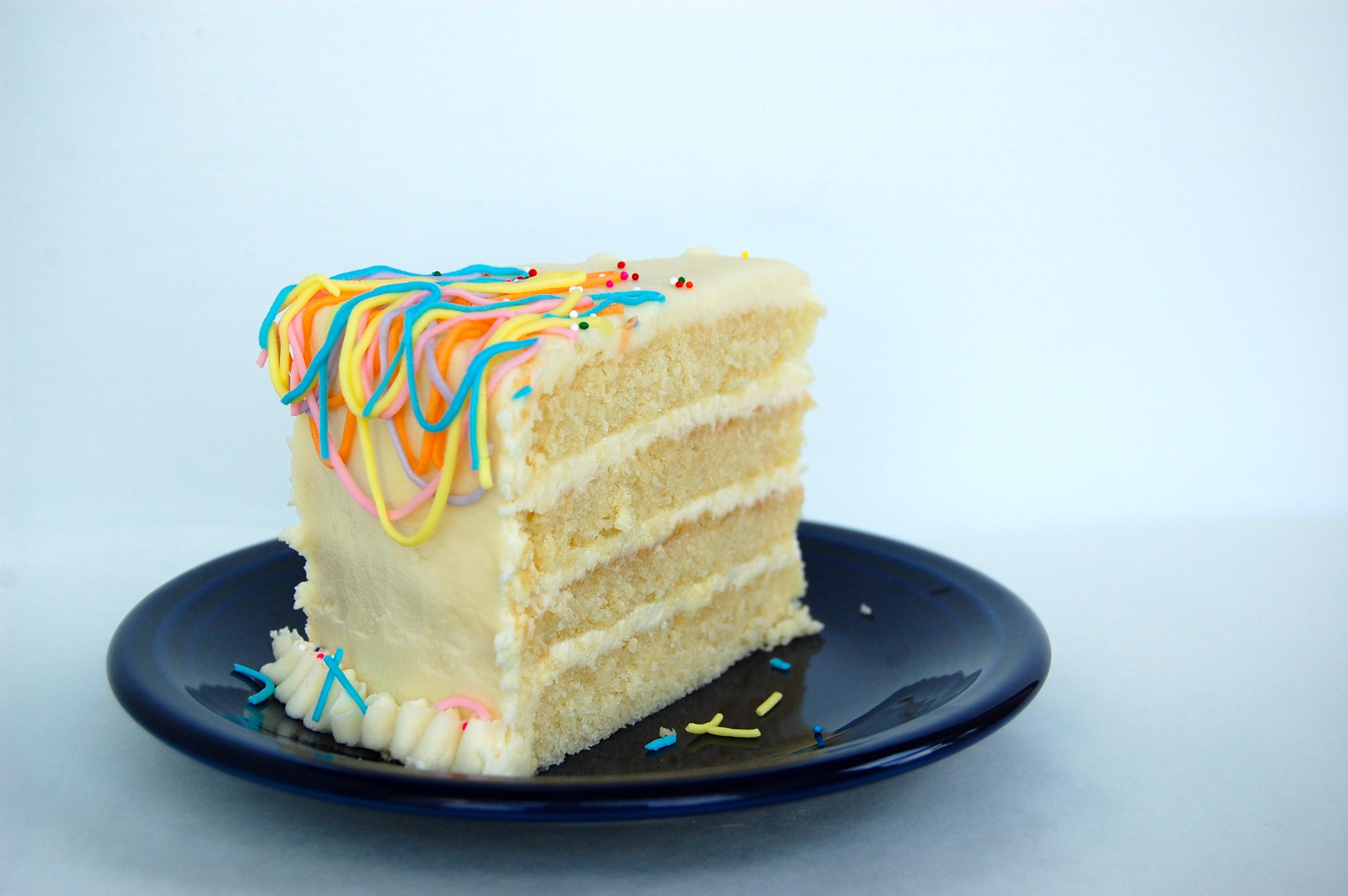 Slice Birthday Cakes
