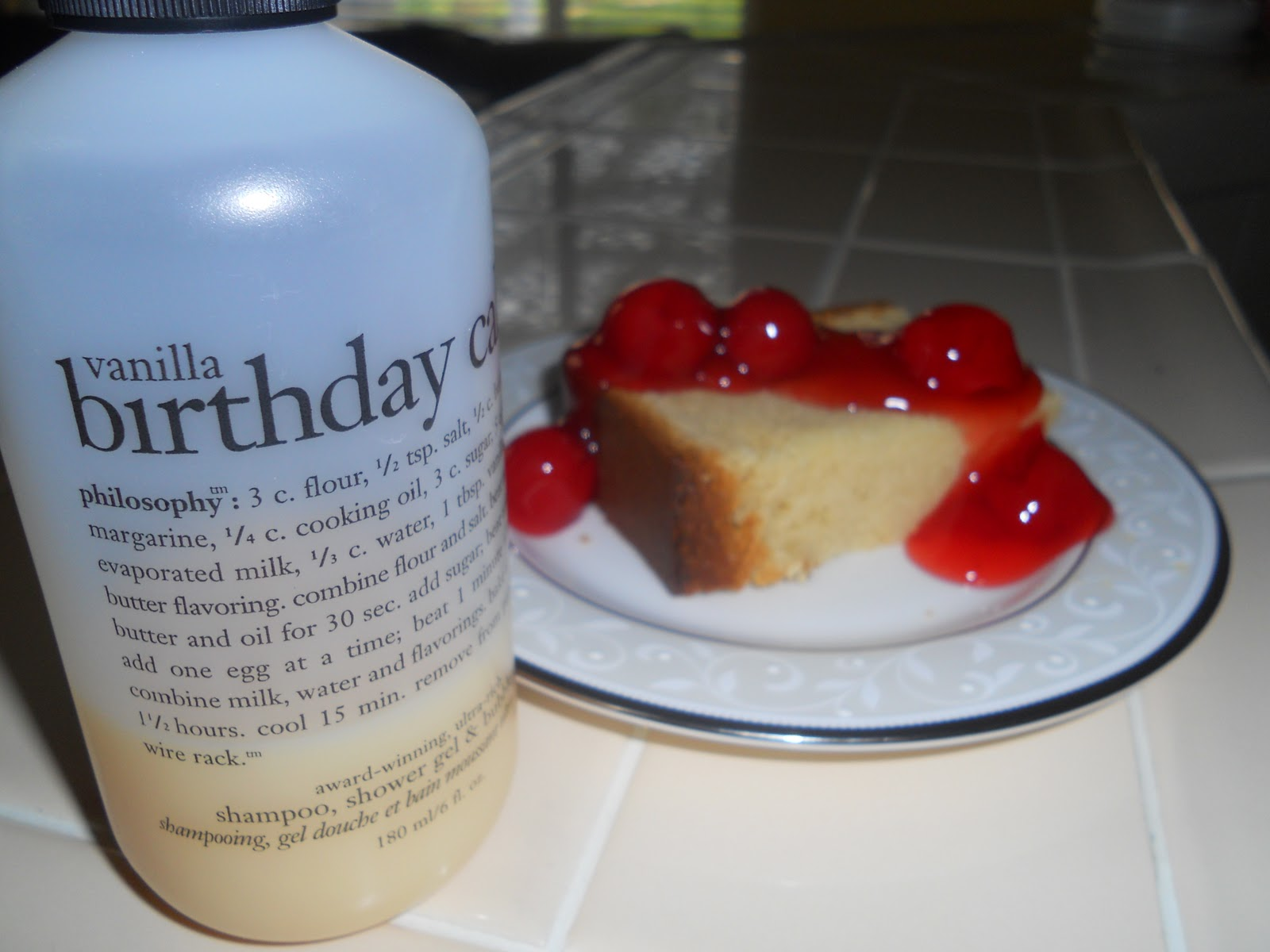 Philosophys Vanilla Birthday Cake