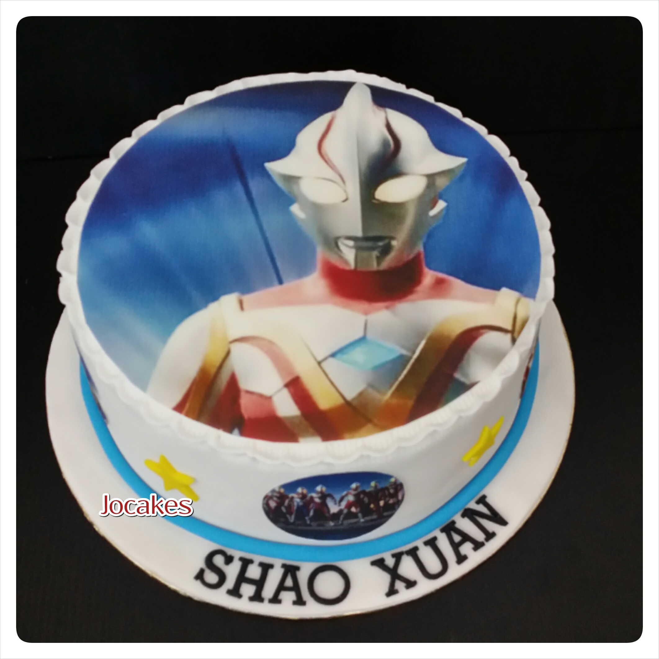 Ultraman Birthday Cakes