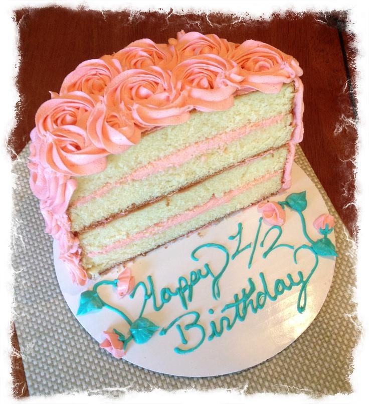 Custom Half Birthday Cake Topper