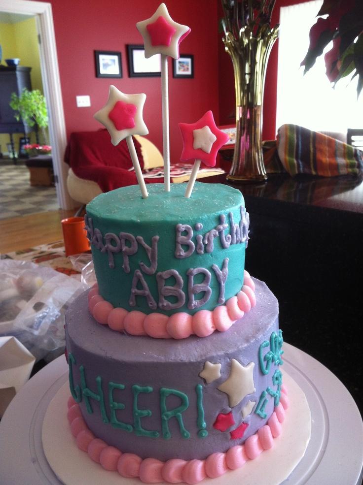 Cheerleading Birthday Cakes