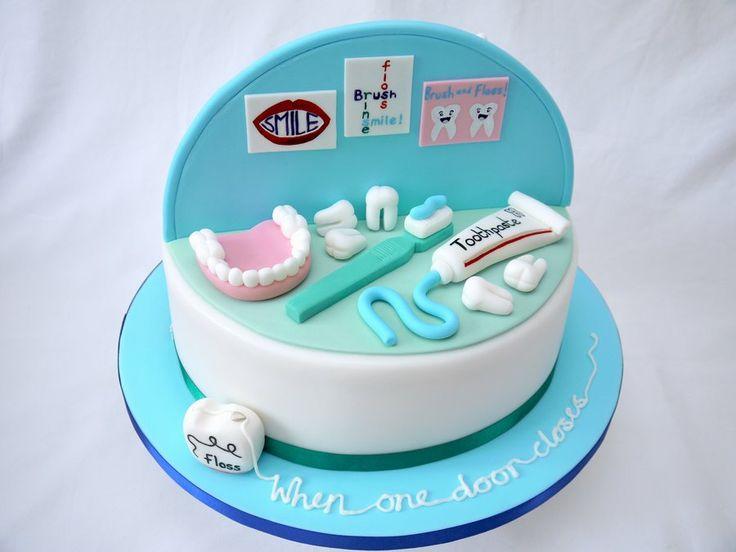 Dentist Birthday Cakes