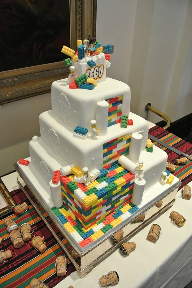 Lego Wedding Cakes