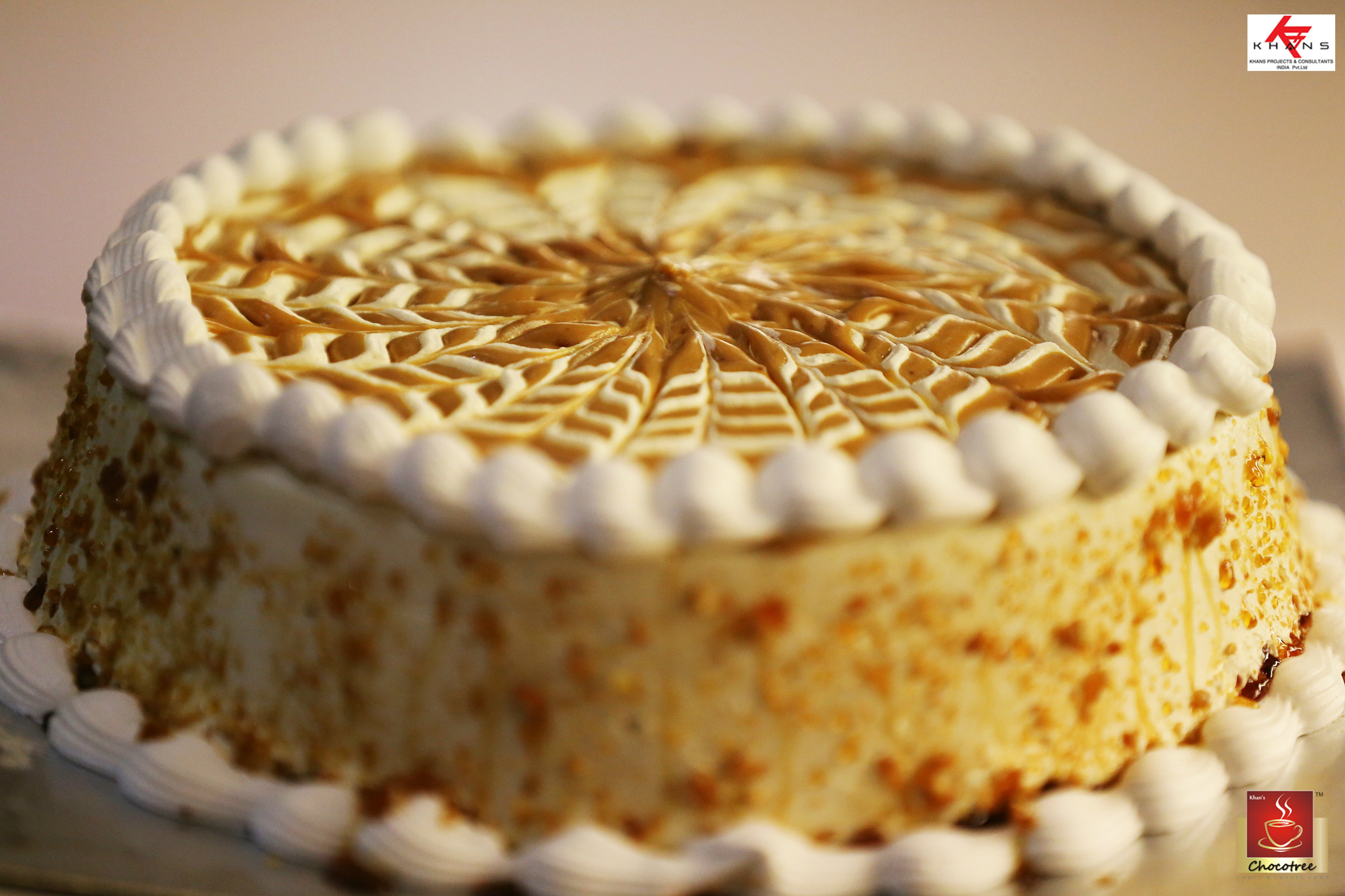 Butterscotch Birthday Cakes