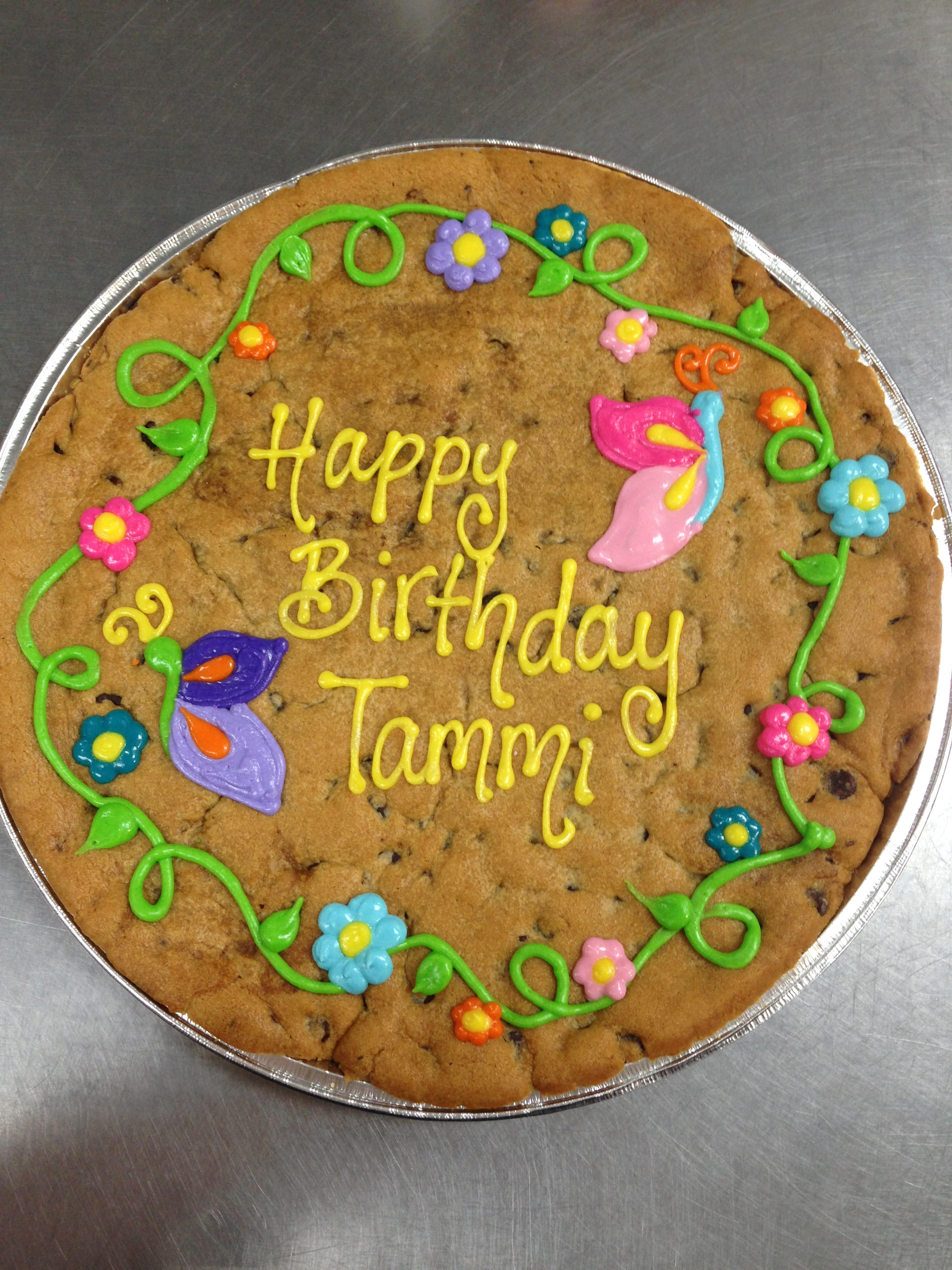 Gourmets Cookie Cakes Cookies By Design Arlington TX