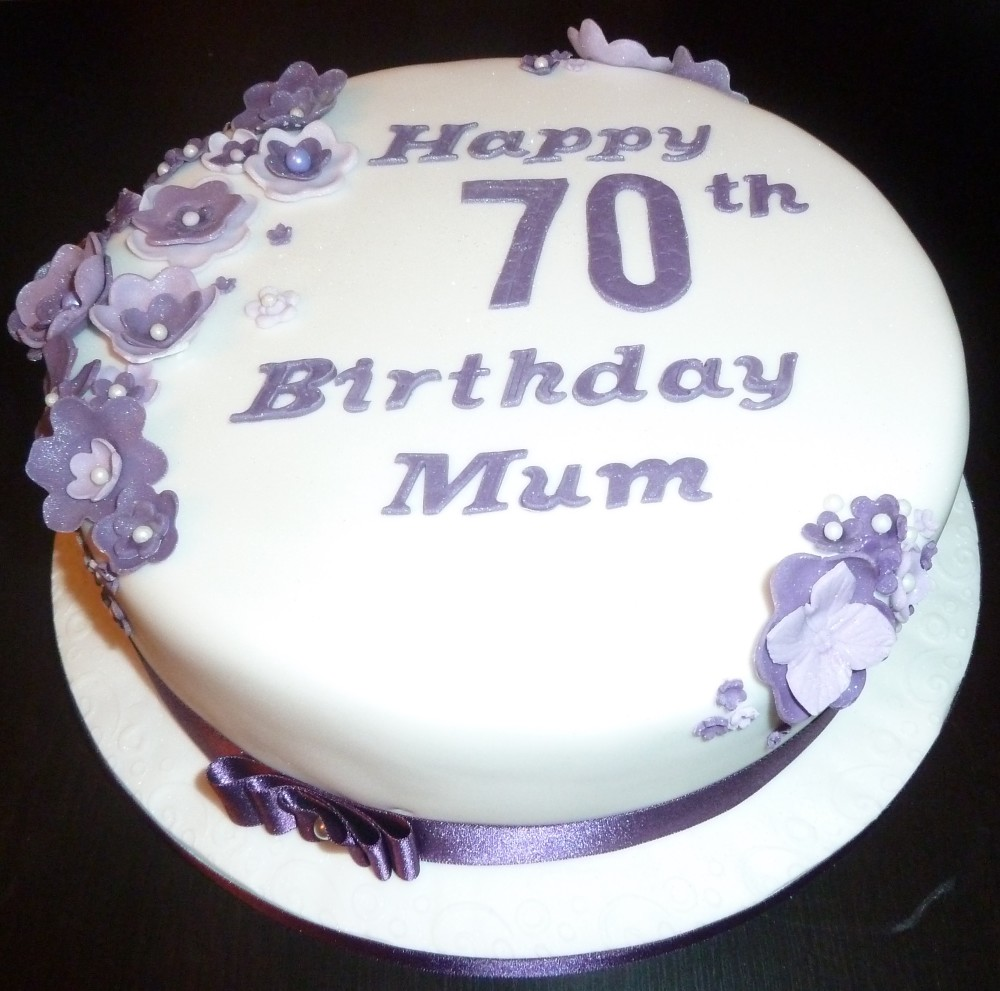 70th birthday cakes izmirmasajfo