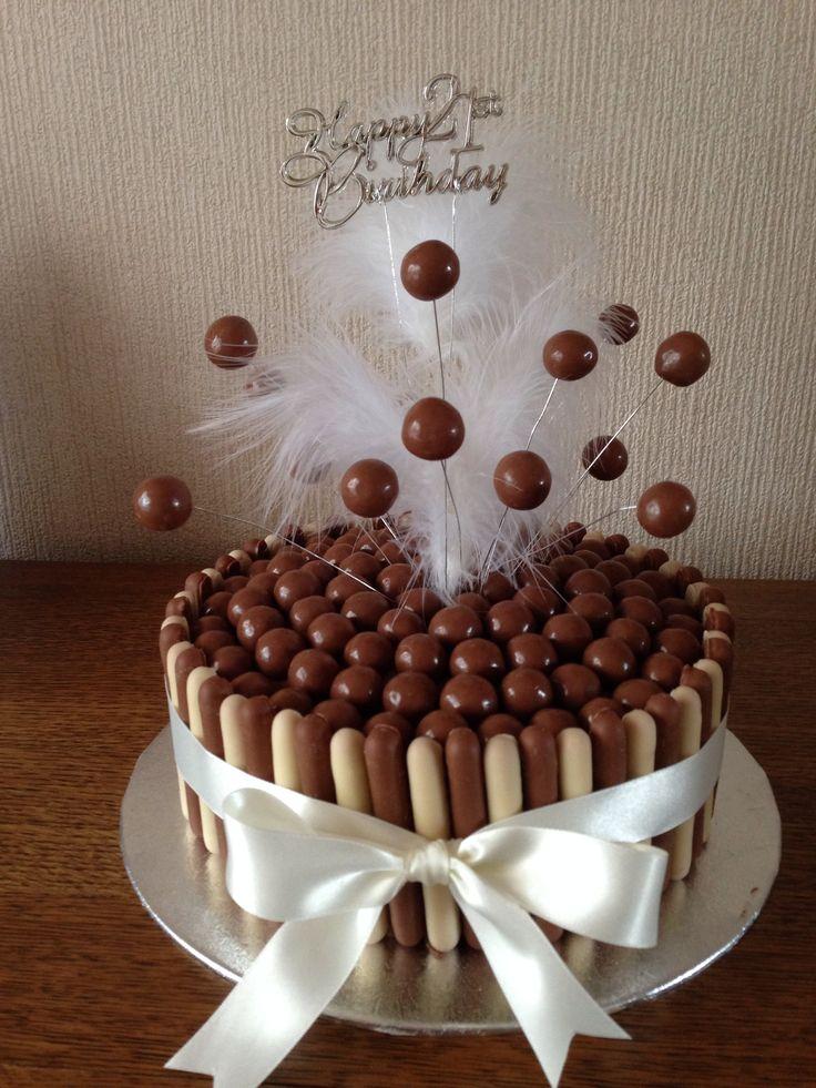 Malteaser Birthday Cakes