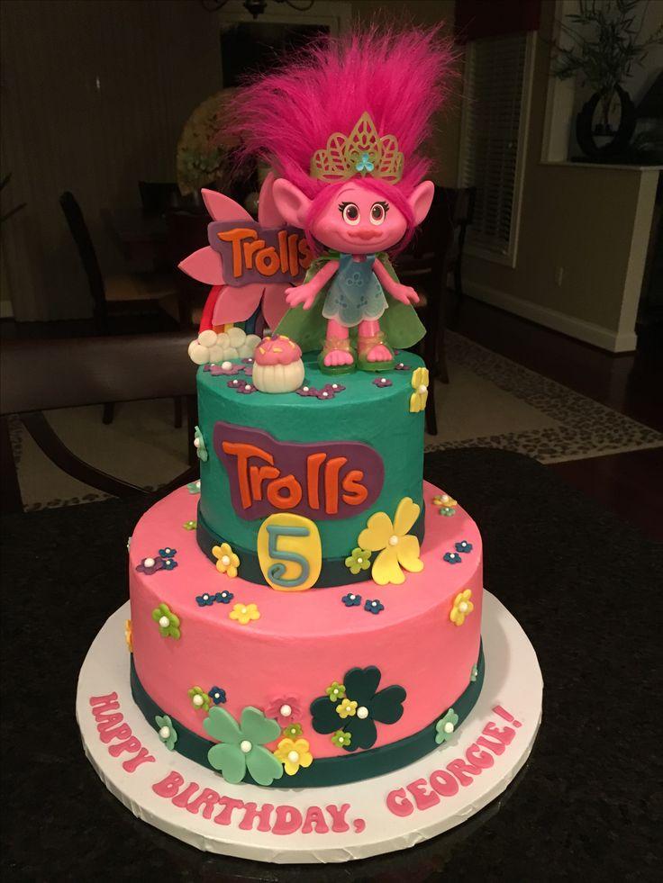Troll Birthday Cakes