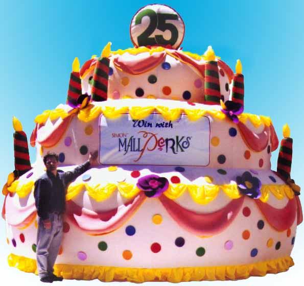 Inflatable Birthday Cakes