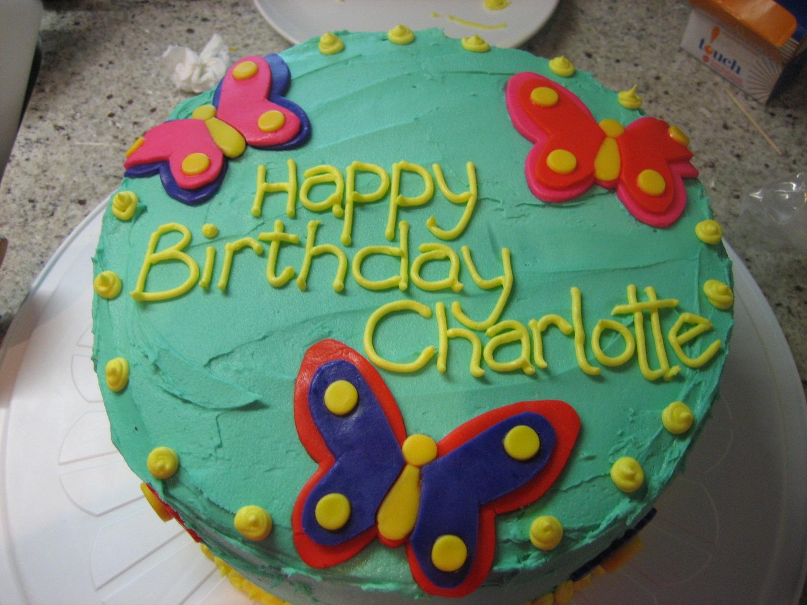 Charlotte Birthday Cakes