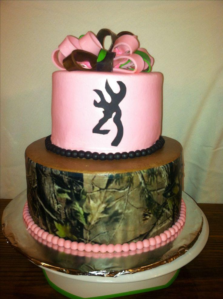 Pink Camo Cake Cakes By Nita Mimi Pinterest