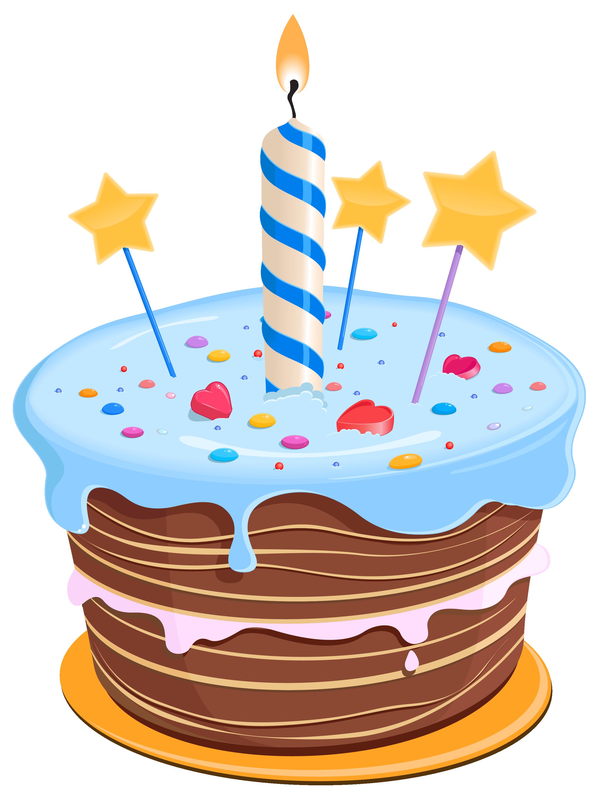 Birthday Cake Clip Sco