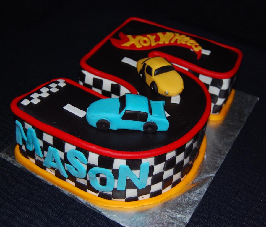 Hotwheels Birthday Cakes
