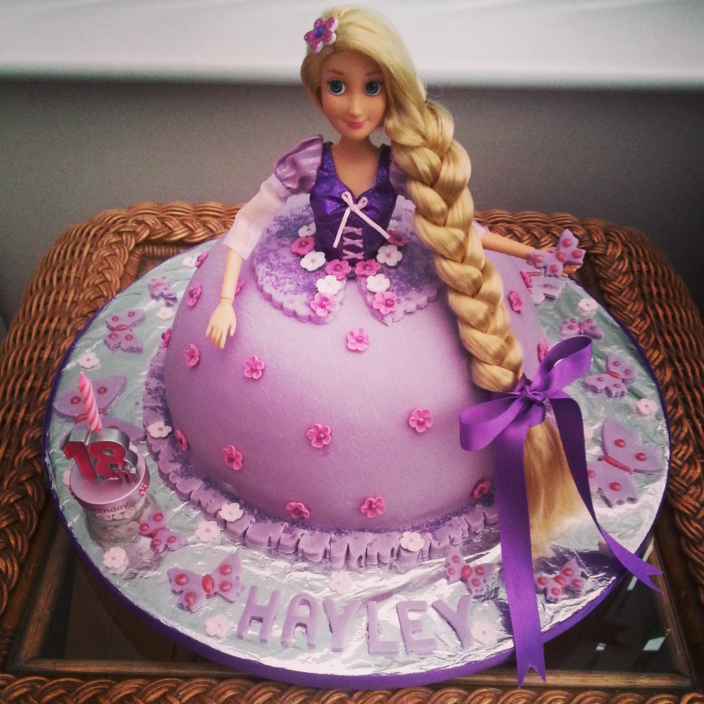 Rapunzel Birthday Cakes