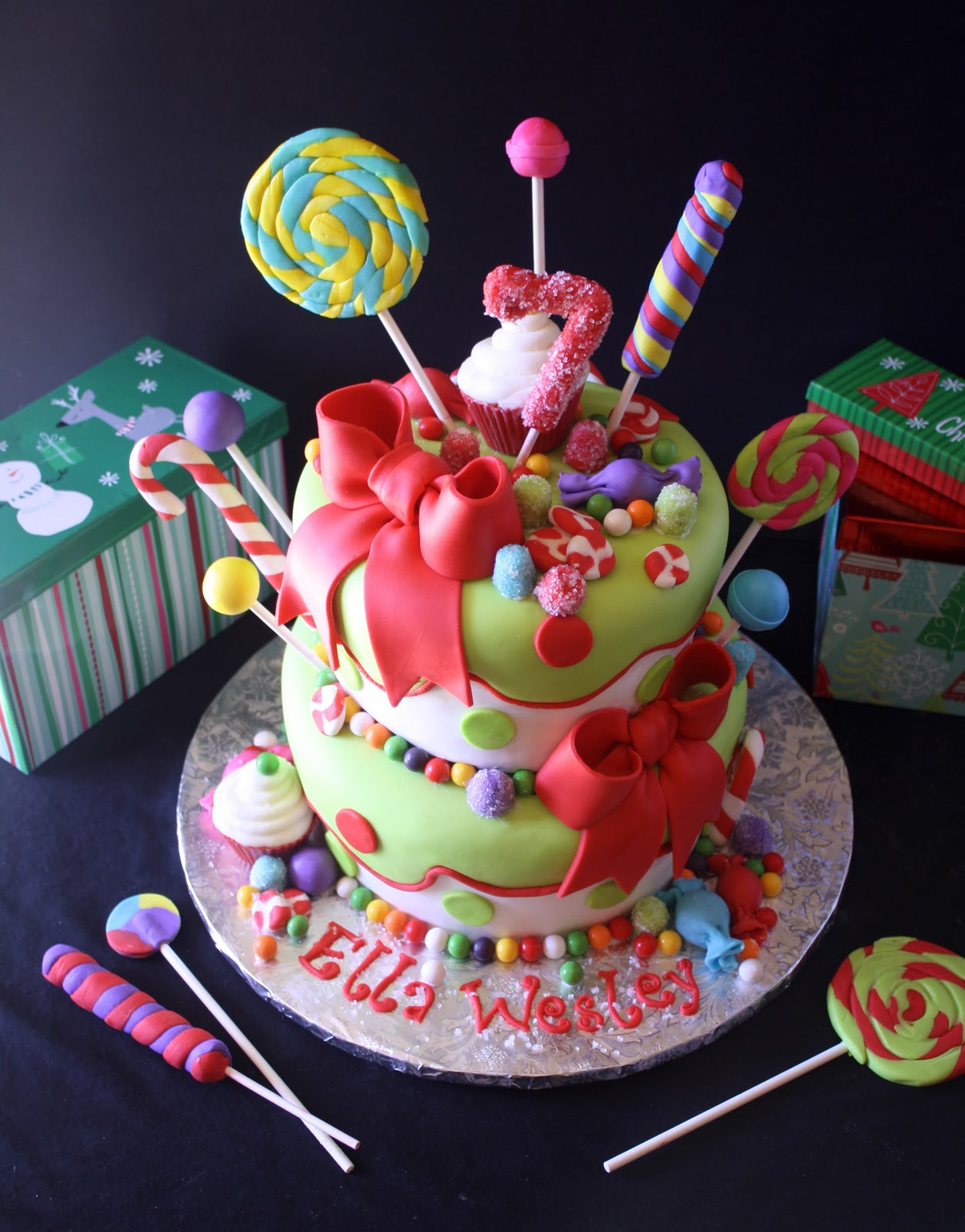 Christmas Birthday Images.Birthday Christmas Cakes