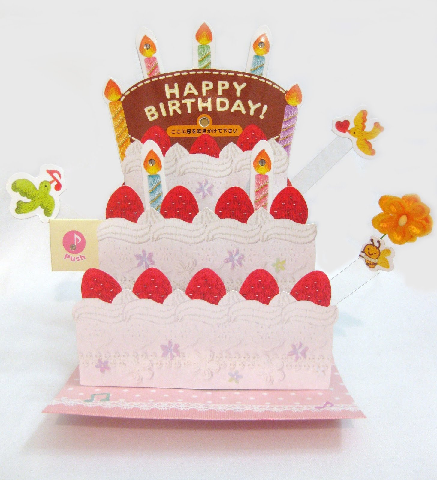 Card Birthday Cakes