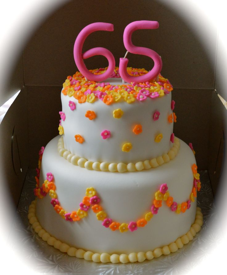 65th Birthday Cakes