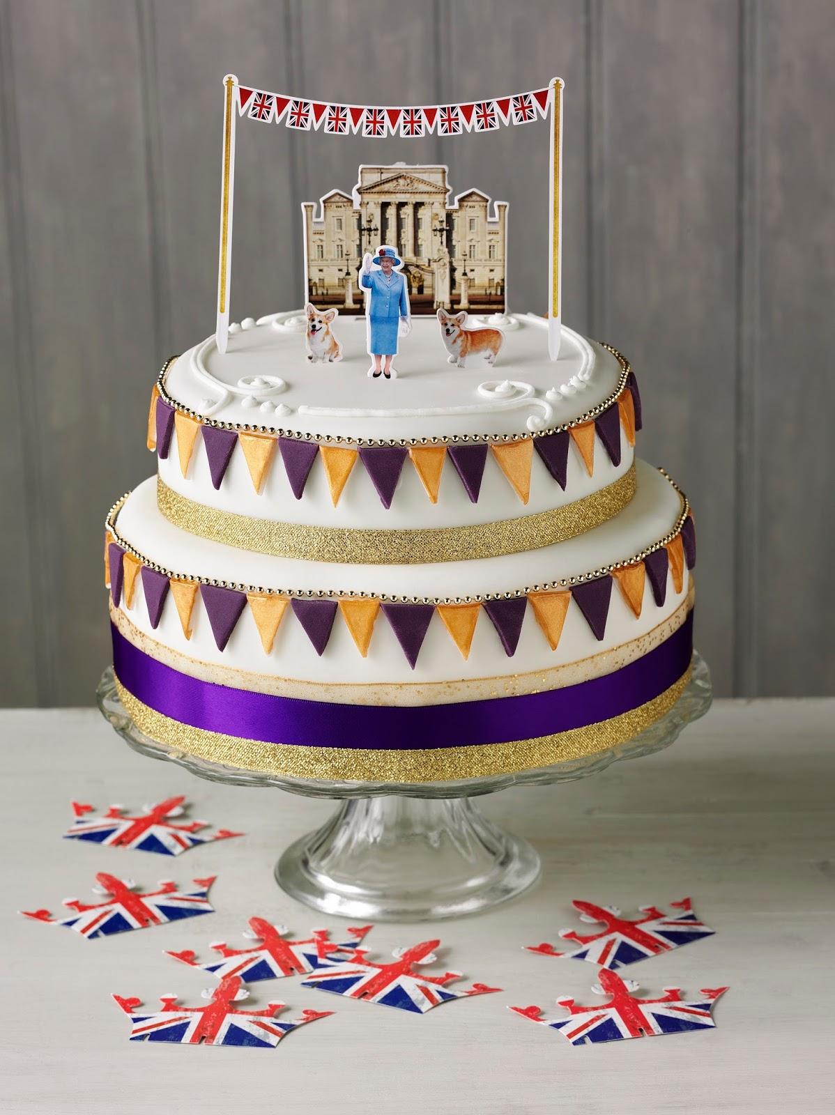 Queens Birthday Cakes