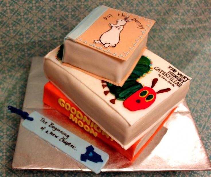 Books Birthday Cakes