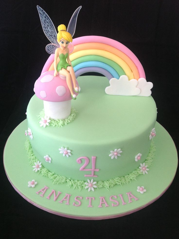 Fairy Birthday Cakes