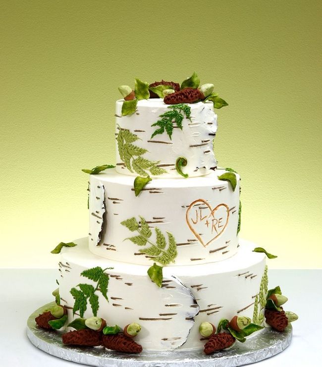 Natural Wedding Cakes