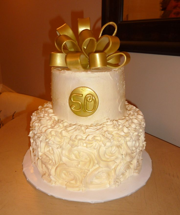 50Th Wedding Cakes