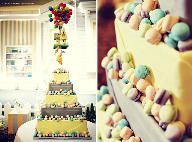 Up Wedding Cakes