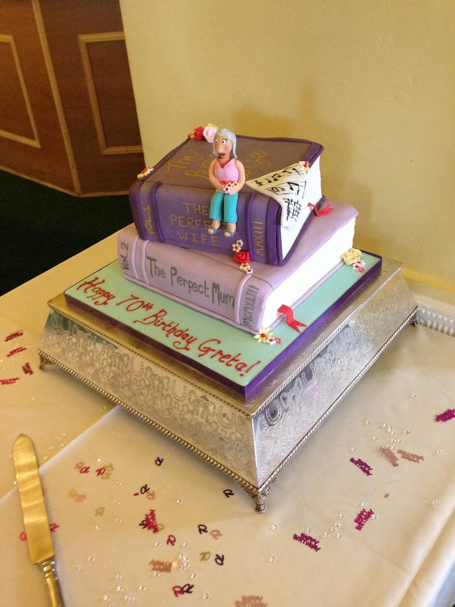 Book Birthday Cakes