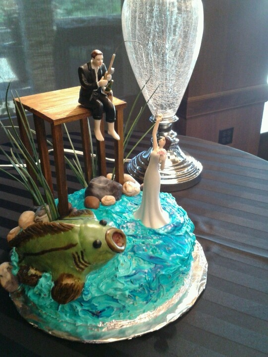 Fishing Wedding Cakes