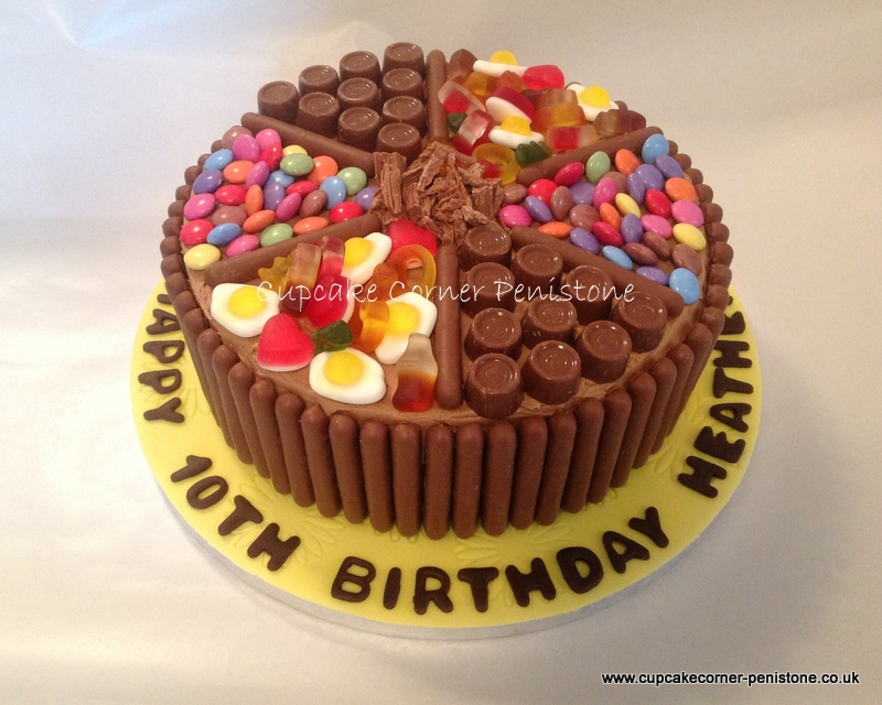Sweets Birthday Cakes