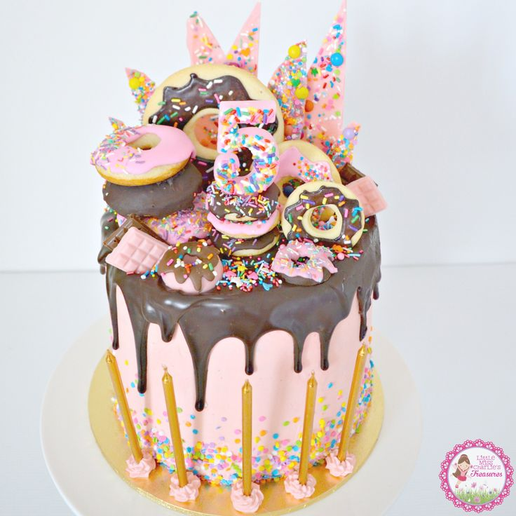 Donut Birthday Cakes