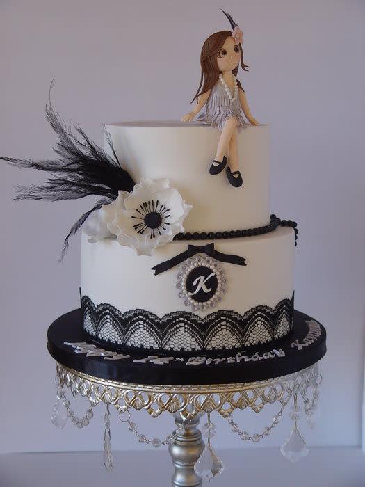 1920s Birthday Cakes