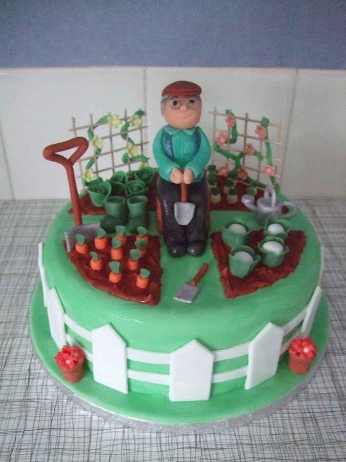 Gardener Birthday Cakes