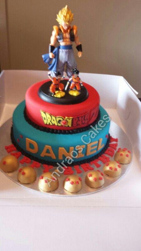 Goku Birthday Cakes