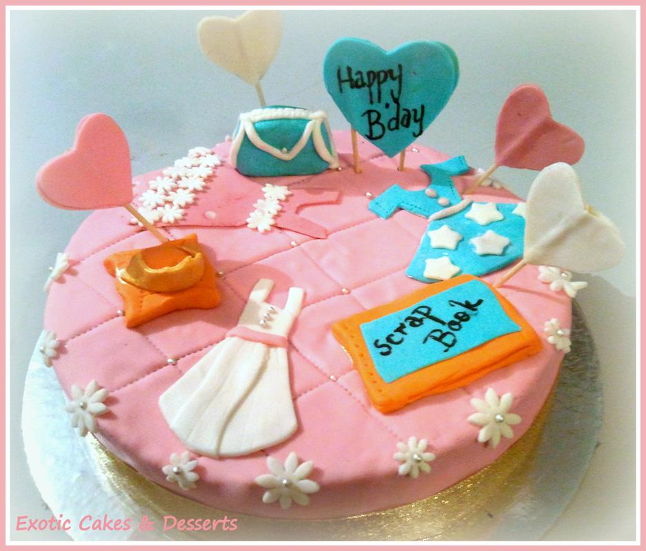 Exotic Birthday Cakes